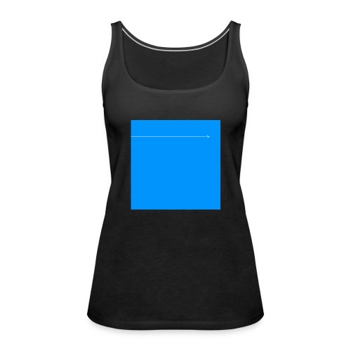 sklyline blue version - Débardeur Premium Femme