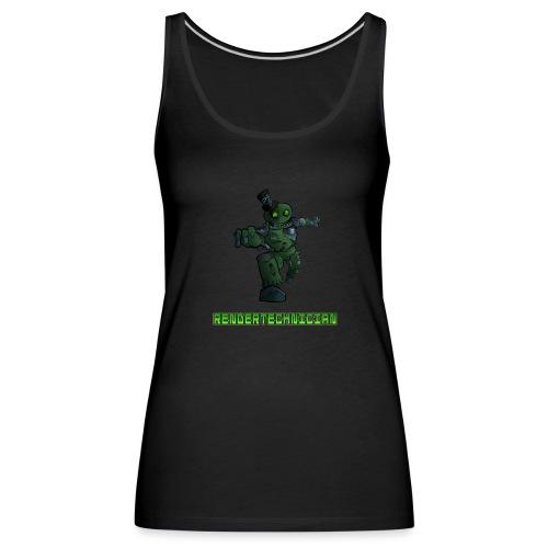 RenderTechnician V3 (Women's Tshirt) - Women's Premium Tank Top