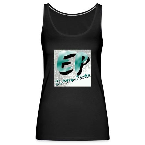 Elektro-Pocke T-Shirt Premium - Frauen Premium Tank Top