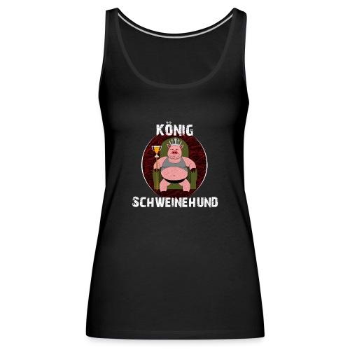 König Schweinehund BLACK - Women's Premium Tank Top