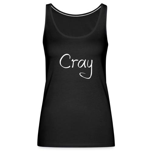 Cray Lang Ärmel TShirt für über 14 jahren - Frauen Premium Tank Top