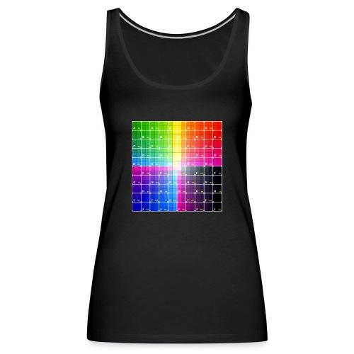 patron - Camiseta de tirantes premium mujer