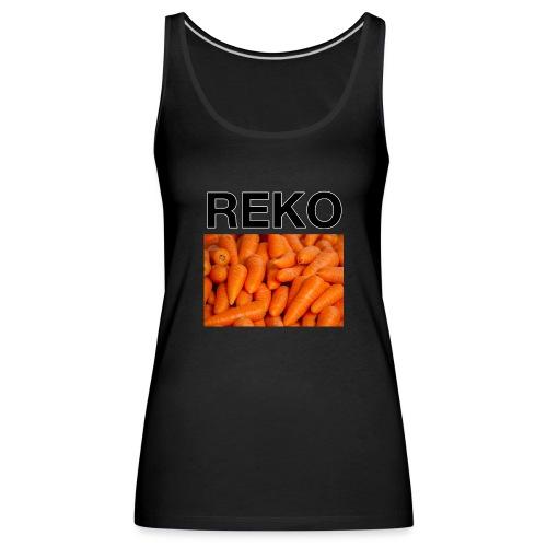 REKOpaita porkkanat - Naisten premium hihaton toppi