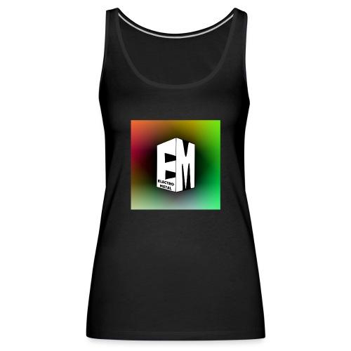 ElectroMetal_Logo - Women's Premium Tank Top
