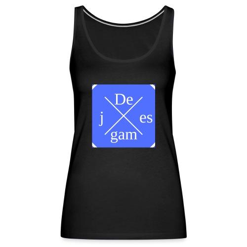 de j games kleren - Vrouwen Premium tank top