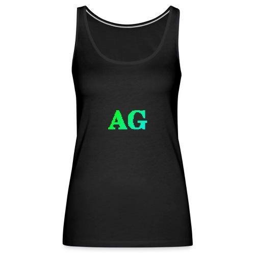 ATG Games logo - Naisten premium hihaton toppi