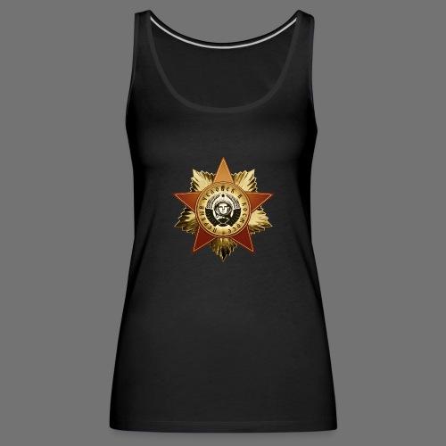 Kosmonautti mitali - Naisten premium hihaton toppi