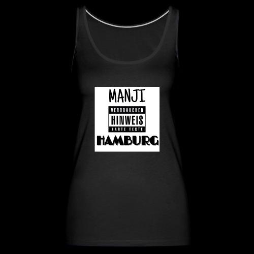 MANJI HAMBURG - Frauen Premium Tank Top