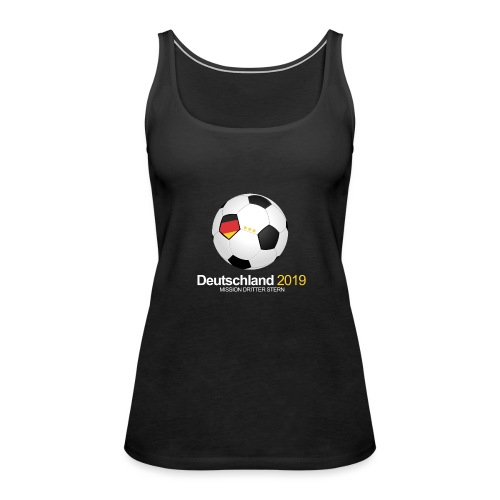 Deutschland Frauen Fussball WM 2019 - Frauen Premium Tank Top