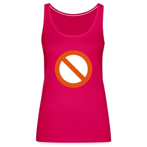 verboden - Vrouwen Premium tank top