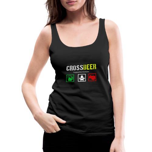 crossbeer - Canotta premium da donna