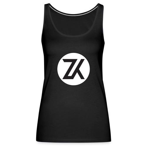 Z-K tryck (Zahid Khayree) - Premiumtanktopp dam