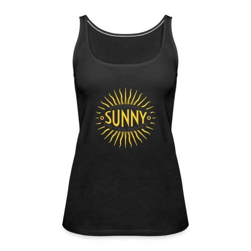 Sunny Inside - Women's Premium Tank Top