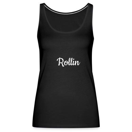 rollin sports t-shirt - Women's Premium Tank Top