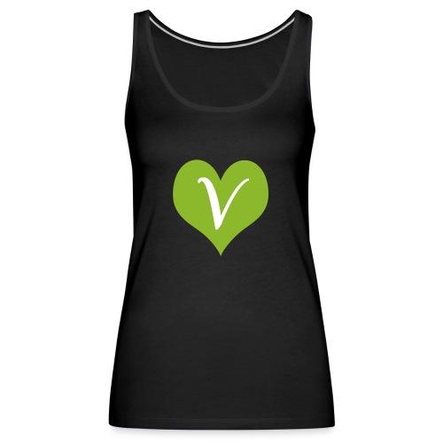Go Vegan - Tank top damski Premium