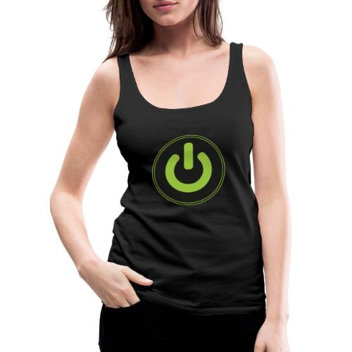 Just the Button - Frauen Premium Tank Top