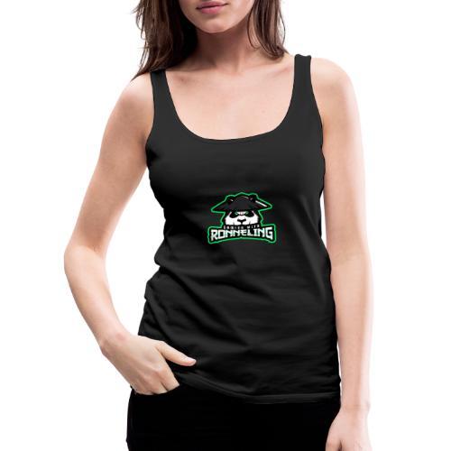 Gaming with Ronneling logo! - Premiumtanktopp dam