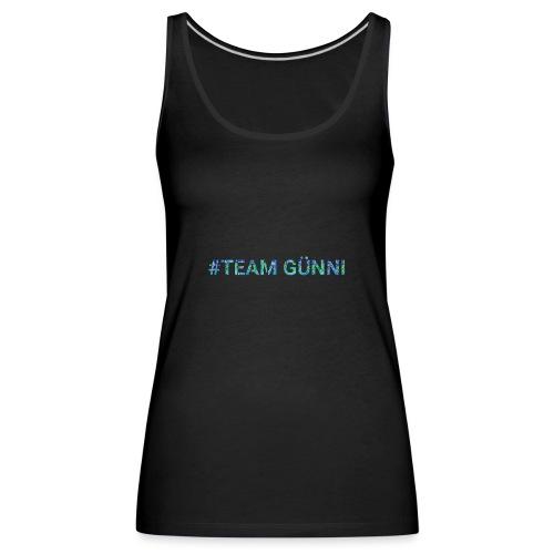 #team GÜNNI - Frauen Premium Tank Top