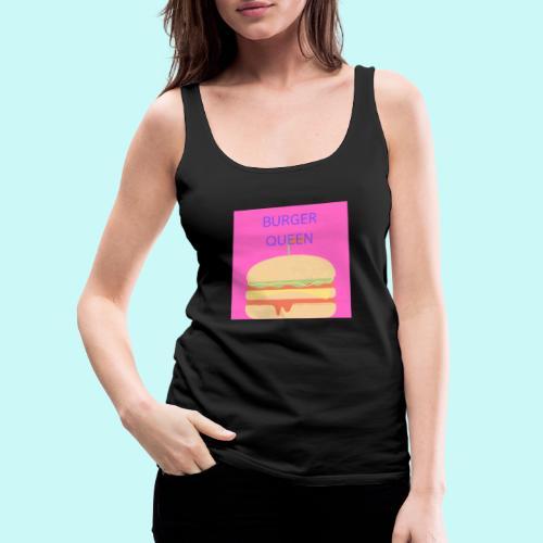 Burger Queen - Women's Premium Tank Top