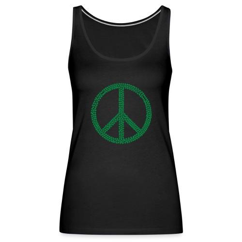 Marijuana Peace - Women's Premium Tank Top