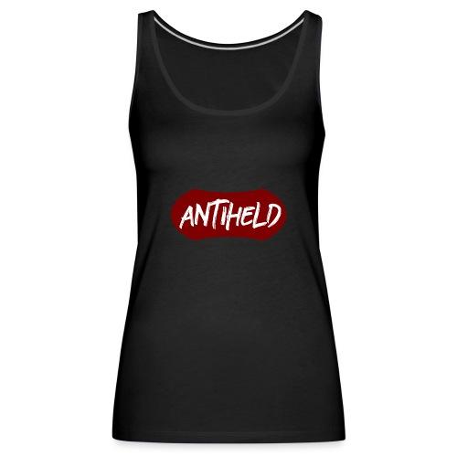 Antiheld Typografie Wappen - Frauen Premium Tank Top