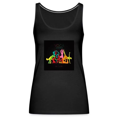 Yoga in Dub - Women's Premium Tank Top