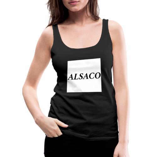Alsaco classic - Débardeur Premium Femme