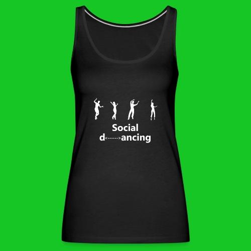 Social dancing - Vrouwen Premium tank top