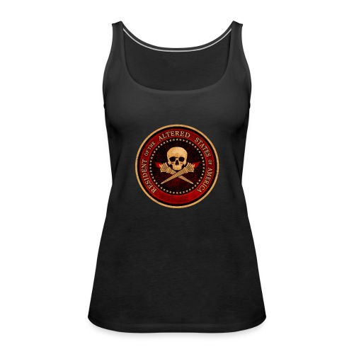 RESIDENT OF THE ALTERED STATES OF AMERICA - Women's Premium Tank Top