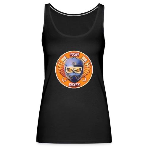 hospibikers neo - Camiseta de tirantes premium mujer