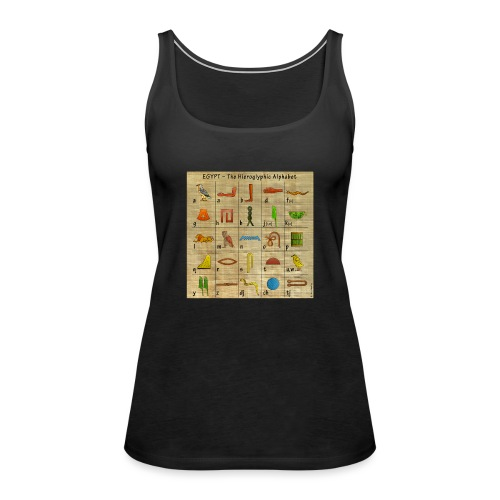 The Hieroglyphic Alphabet - Frauen Premium Tank Top