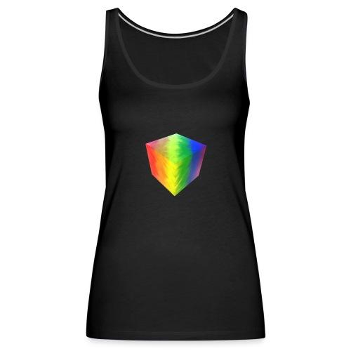 Pride Cube - Premium singlet for kvinner