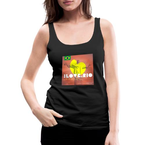 I LOVE RIO RADIO - Women's Premium Tank Top