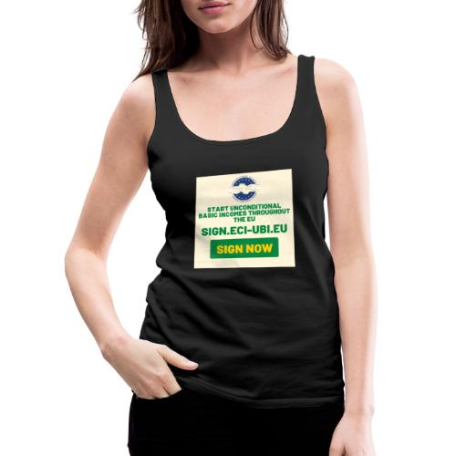 start unconditional basic incomes - Vrouwen Premium tank top