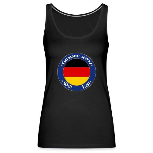 germany first - Women's Premium Tank Top