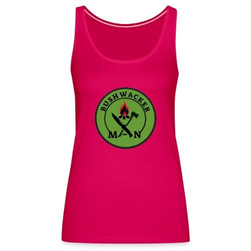 bushwackers logo green - Women's Premium Tank Top
