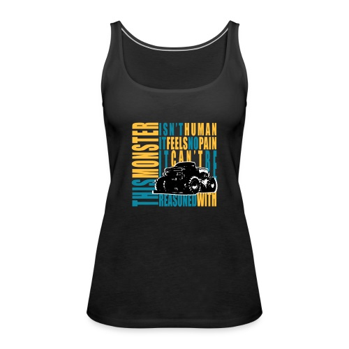 This monster - Tank top damski Premium