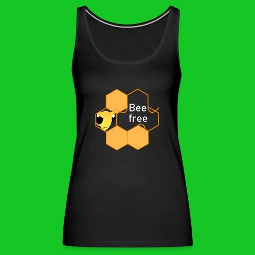Bee Free - Vrouwen Premium tank top