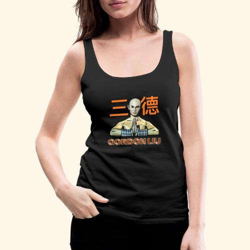 Gordon Liu - San Te - Monk (Official) 9 dots - Vrouwen Premium tank top