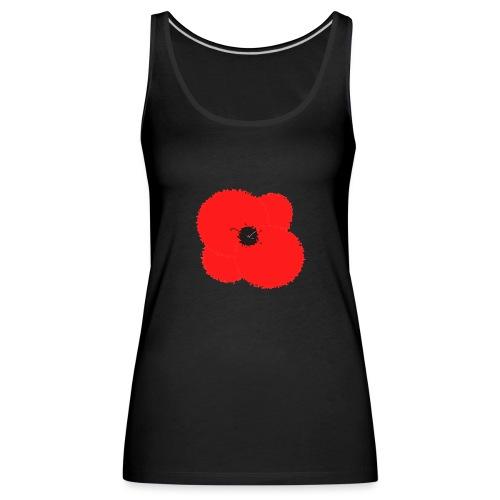 Poppy flower - Camiseta de tirantes premium mujer
