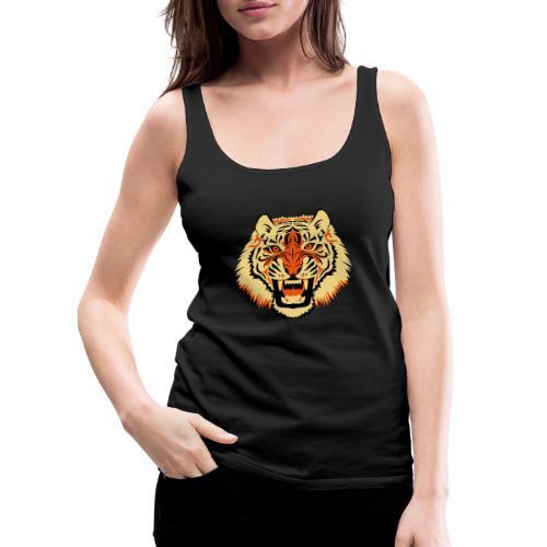 Tiger - Vrouwen Premium tank top