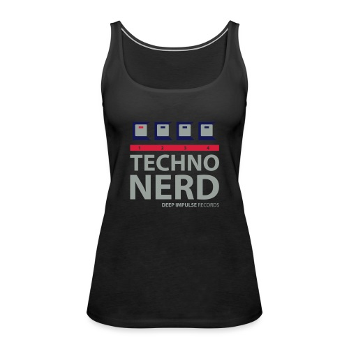 Techno Nerd - Women's Premium Tank Top