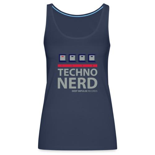 Techno Nerd - Women's Premium Tank Top