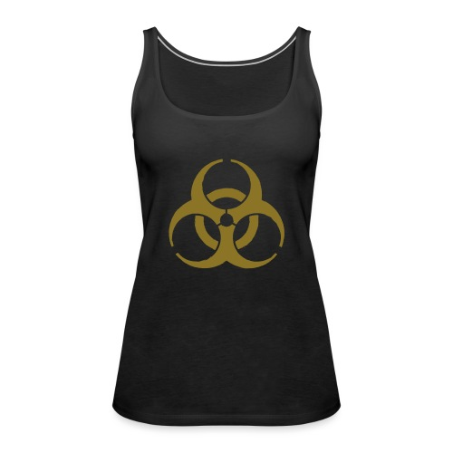 Biohazard symbol - Women's Premium Tank Top