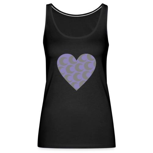 corazon3 - Camiseta de tirantes premium mujer