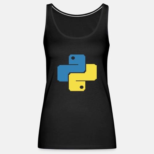Python Pixelart - Women's Premium Tank Top