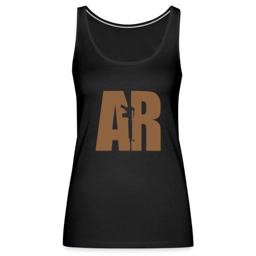 AR15 BEIGE - Women's Premium Tank Top