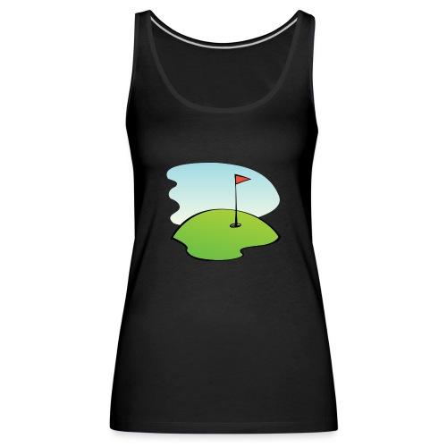 golf - Frauen Premium Tank Top