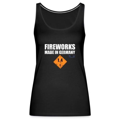 Feuerwerk aus Deutschland Pyrotechnik - Frauen Premium Tank Top