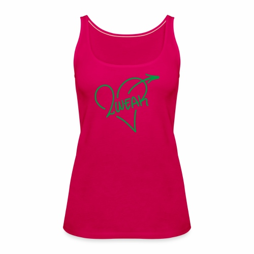 Love for a green life - Dame Premium tanktop